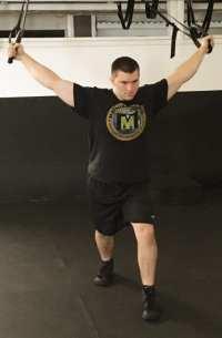 upper body warm up chest stretch