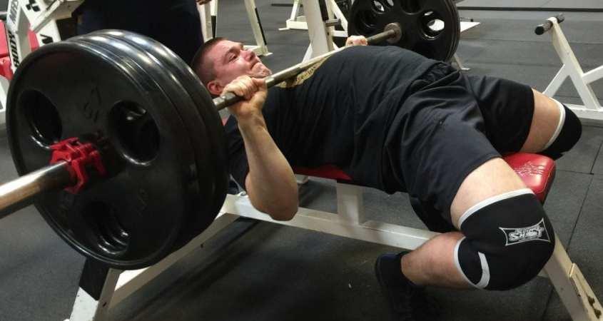 315 Bench Press Powerlifting Exercise