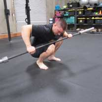 Calf Soleus Stretch Mobility Exercise 2