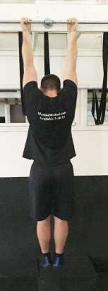Chin Up Bodyweight Back Strength Exercise 4