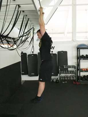 Chin Up Bodyweight Back Strength Exercise 2