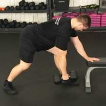Dumbbell Row Exercise 4