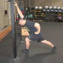 Lat Shoulder Flexion Stretch 4