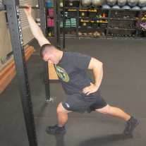Lat Shoulder Flexion Stretch 7