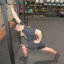 Lat Shoulder Flexion Stretch 8