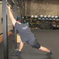 Lat Shoulder Flexion Stretch 5