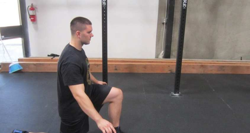 Hip Flexor Stretch Warm Up Exercise 5