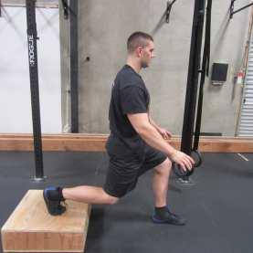 Bulgarian split Squat hip mobility Exercise 1