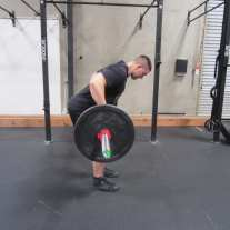 Barbell Row Exercise 2