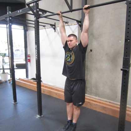 Hanging Leg Raises Abs Exercise 2