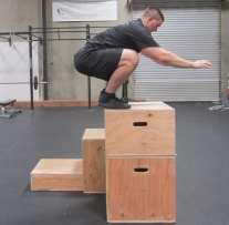 Plyometric Box Jump Exercise 5
