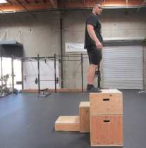 Plyometric Box Jump Exercise 4