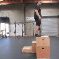 Plyometric Box Jump Exercise 4