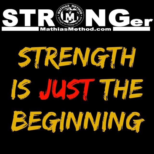 stronger strength is just the beginning