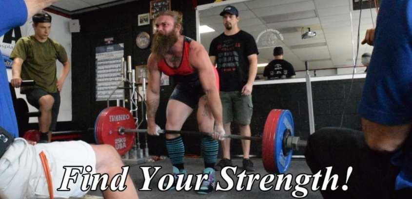strength warrior deadlift uspa