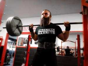 strength warrior reid england