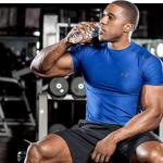 workout hydration for muscle mass