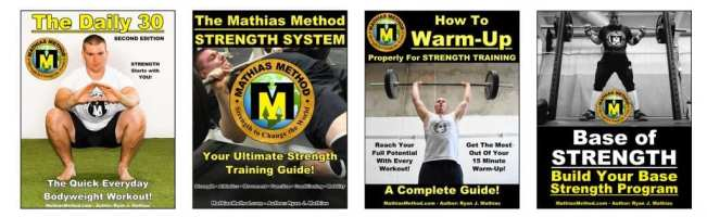 The Strength Warrior Workout Series Books
