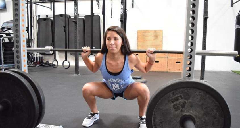 girls who squat