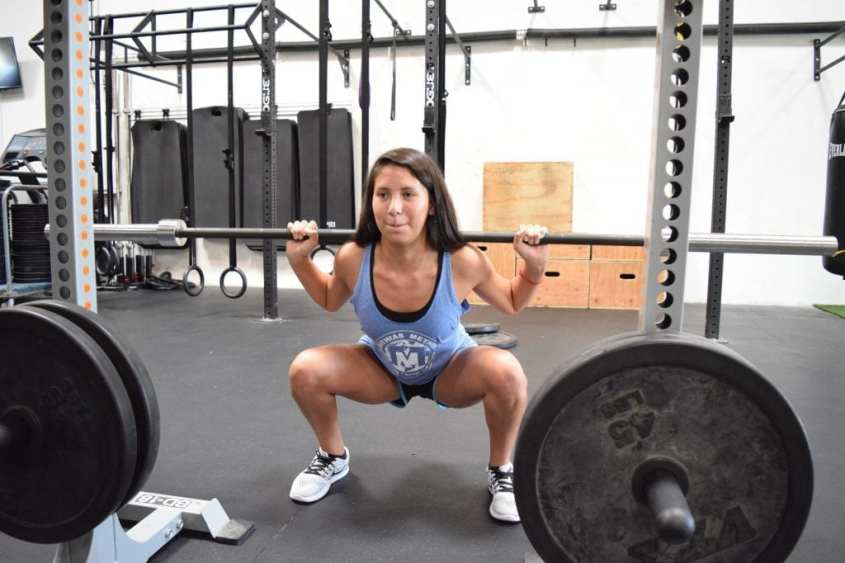 girls who squat