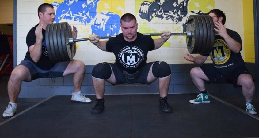 Main Lifts Big 3 Compound Exercise for strength the Squat