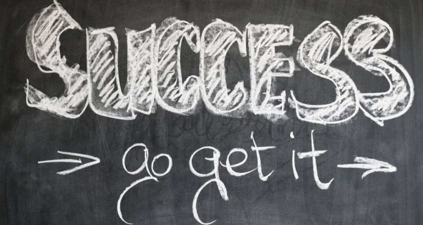 say yes to success and go get it
