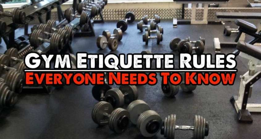 Gym Etiquette Rules Top 20