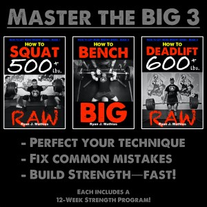 Squat Bench Press Deadlift Powerlifting Programs for Strength
