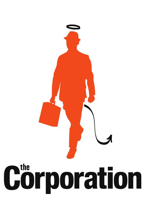 "Poster for the movie ""The Corporation"""