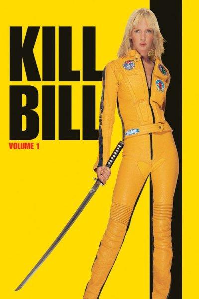 "Poster for the movie ""Kill Bill: Vol. 1"""