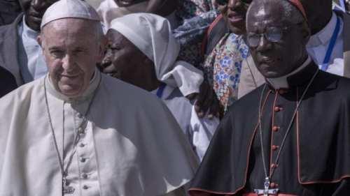 Le pape François et le cardinal Sarah. Source image: