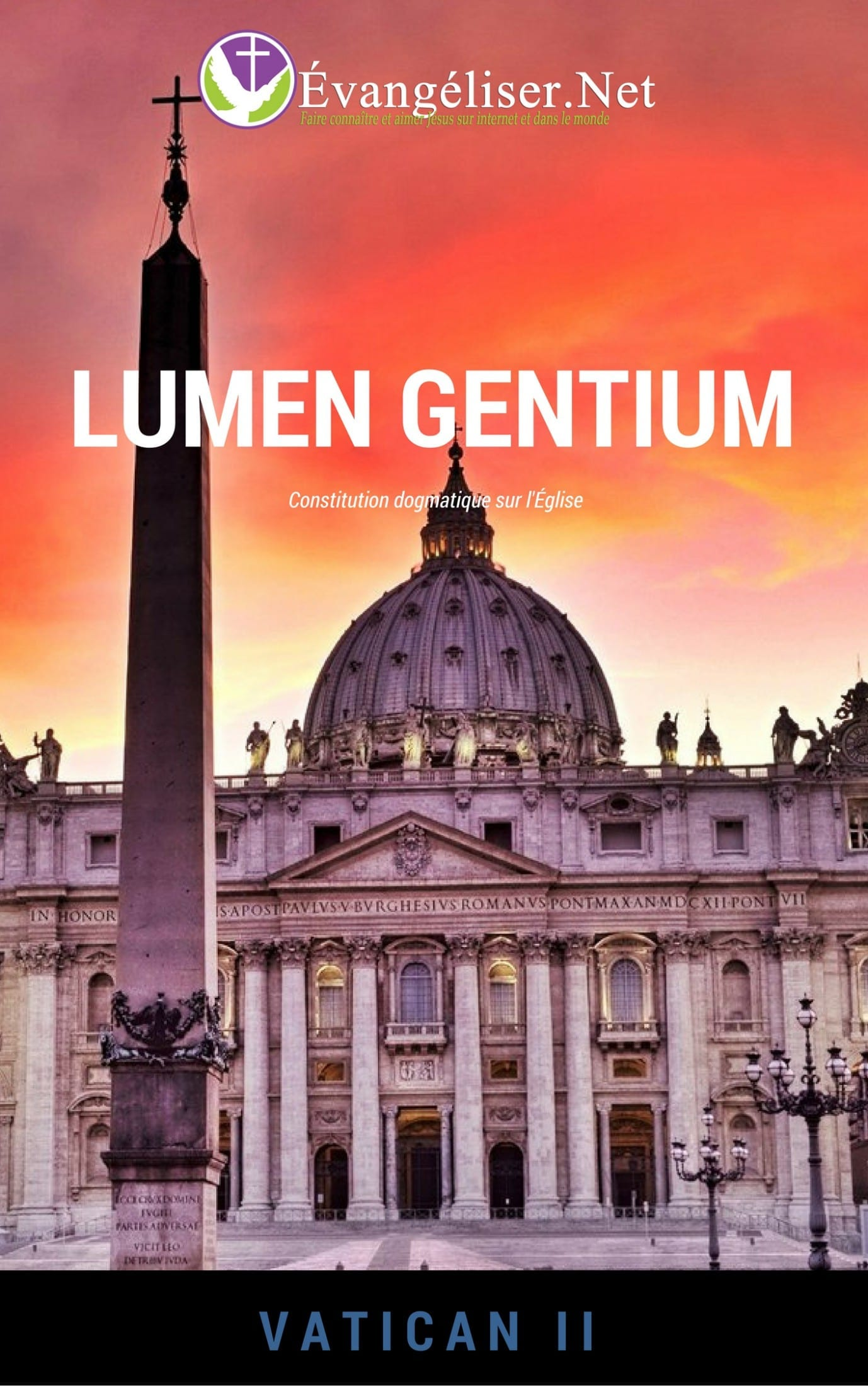 Télécharger la constitution dogmatique sur l'Église Lumen Gentium pour la lire sur votre ordinateur ou votre tablette