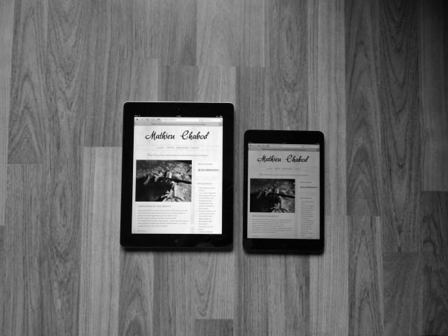 iPad mini mathieuchabod.fr