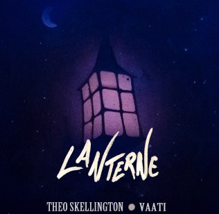 """i recently did the cover of a little rap album named """"Lanterne"""" . Artwork on paper with acrylic , spraypaint and paint marker + work on photoshop to edit colors and add the title and artists' name"""