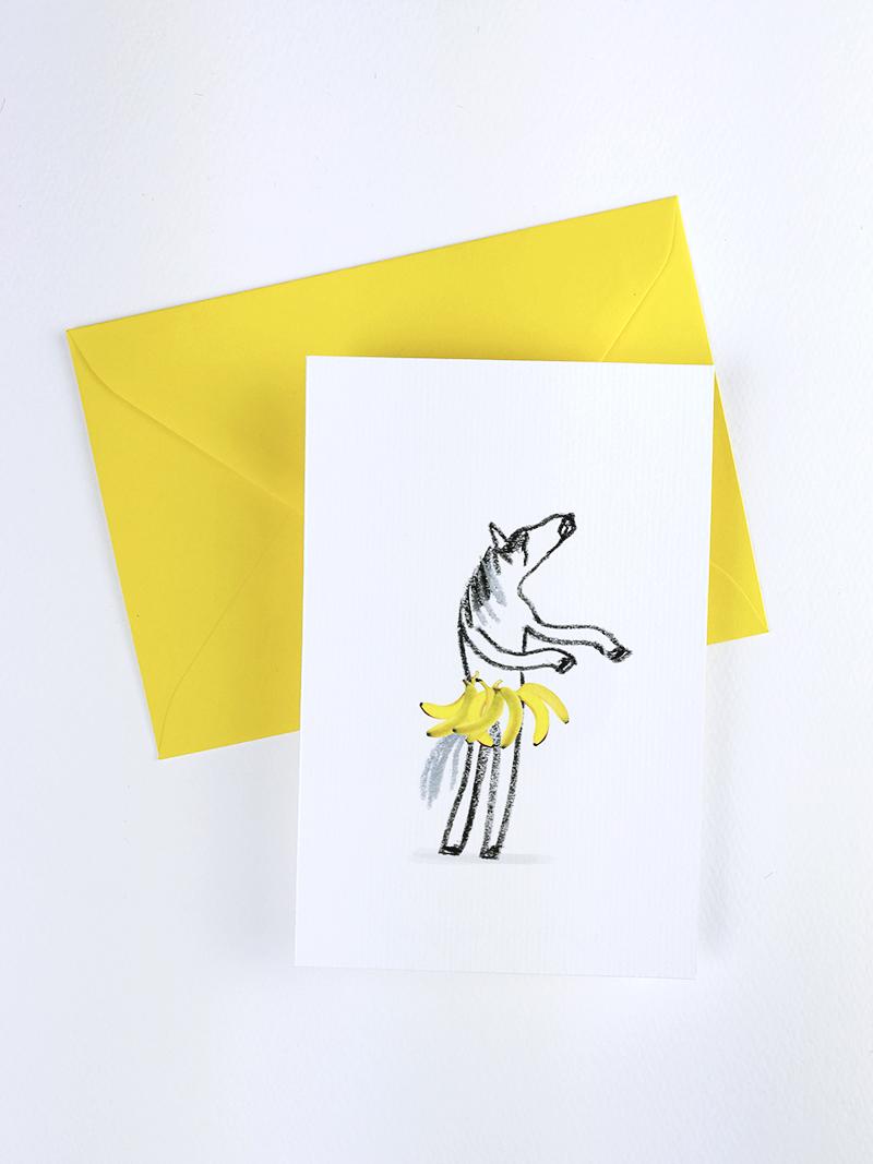 Les Folles Aventures : Coarte postales Banana