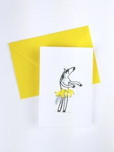 Les Folles Aventures : Carte postale Banana