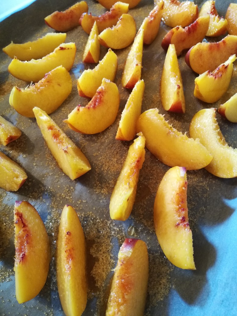 tarte aux nectarines roties et lemon curd 4
