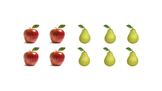 How Many Fruit? - Subitizing, Unitizing and Multiplicative Thinking Visual Prompt 01