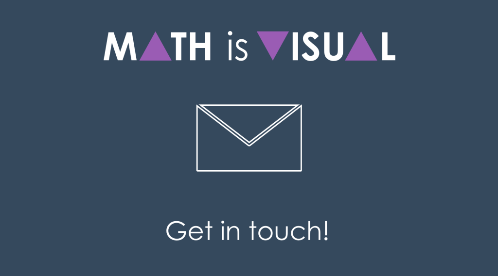 Math Is Visual Contact Page Header