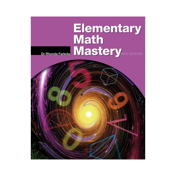 Elementary Math Mastery Teacher Book on square background