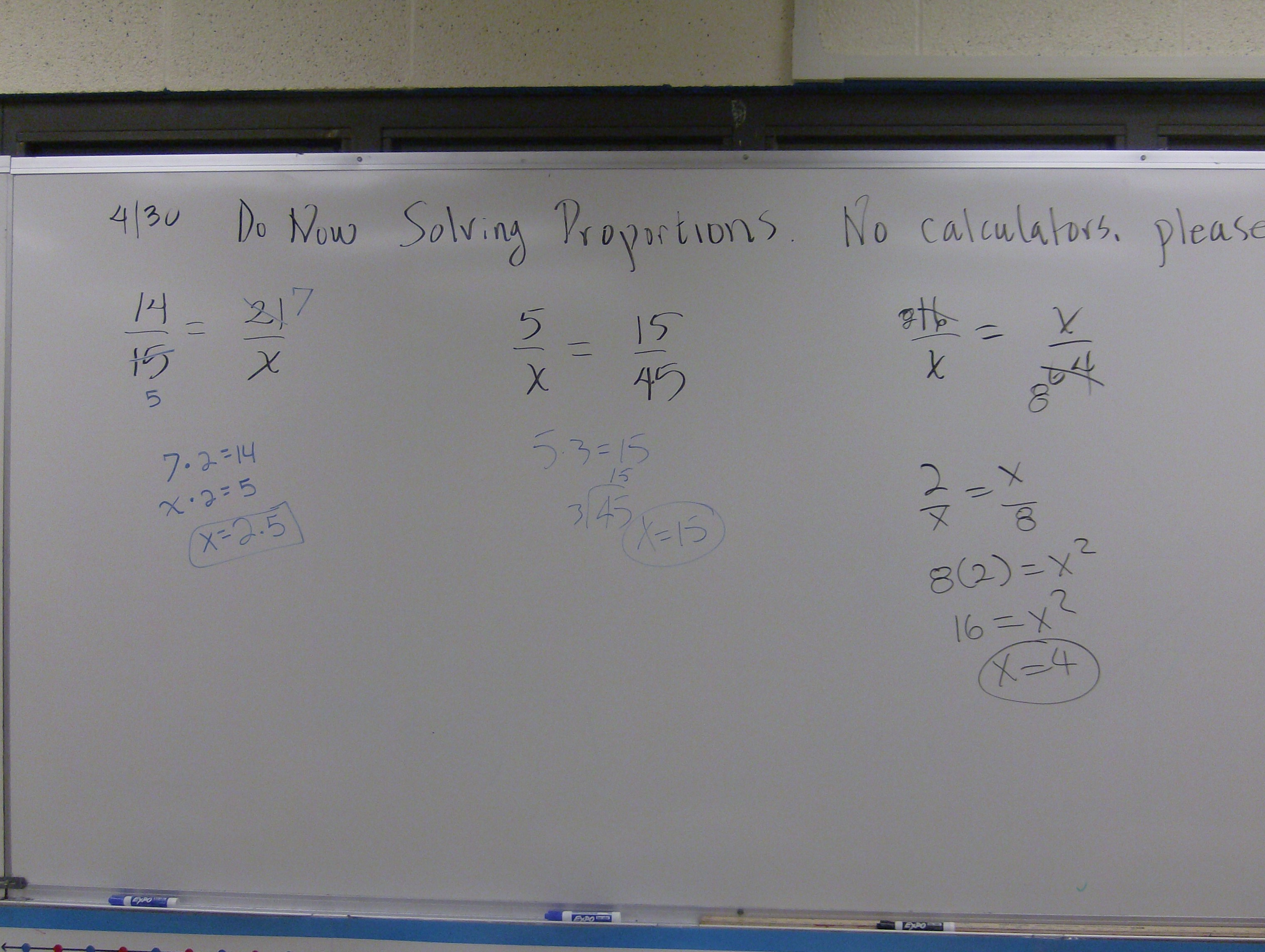 Ratios And Proportions Math Mistakes