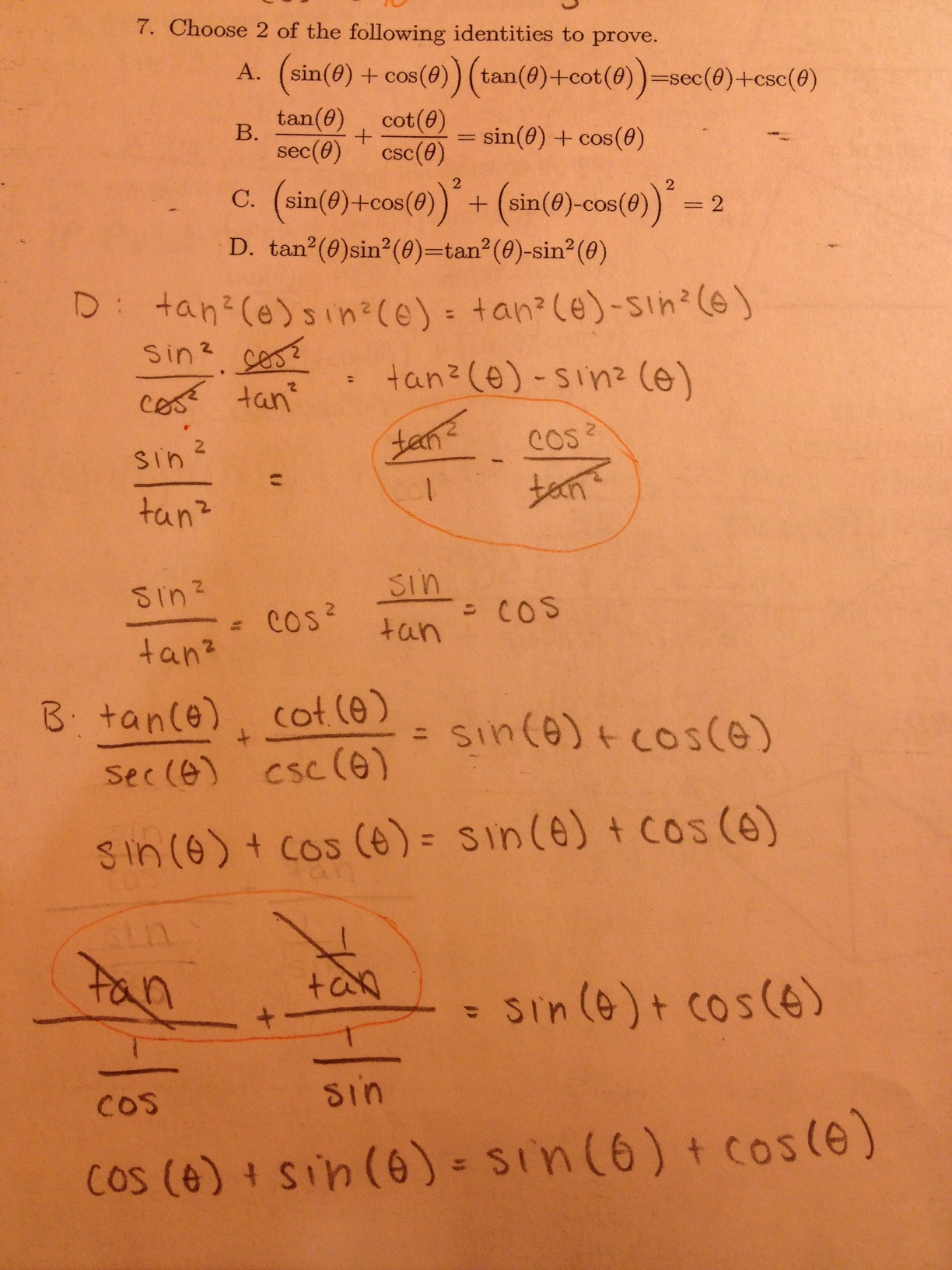 Solving Trig Identities Practice Problems How To Solve
