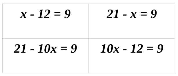 Reasoning With Equations And Inequalities Math Mistakes