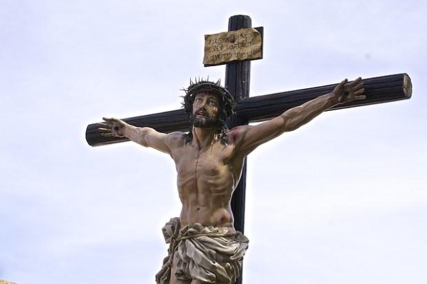 耶穌被釘上十字架