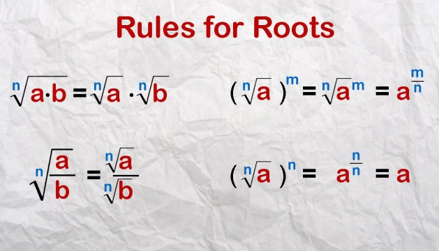 Rules of Roots