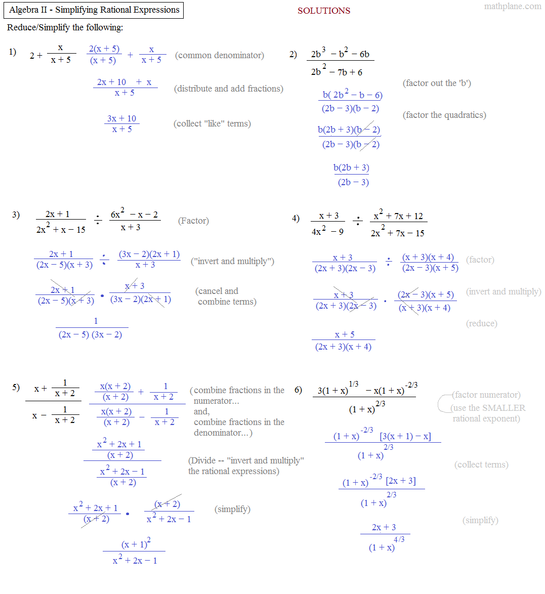 35 Algebra 2 Factoring Review Worksheet Answers
