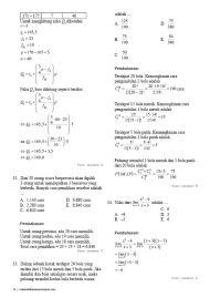 Soal Pembahasan Ujian Nasional Matematika Teknik 2016-14