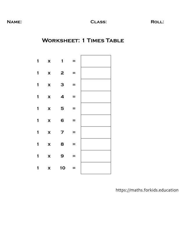 worksheet table 1-min
