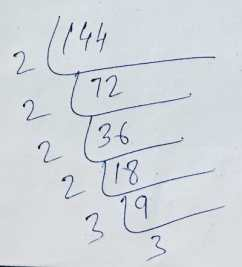 Fractions of 144