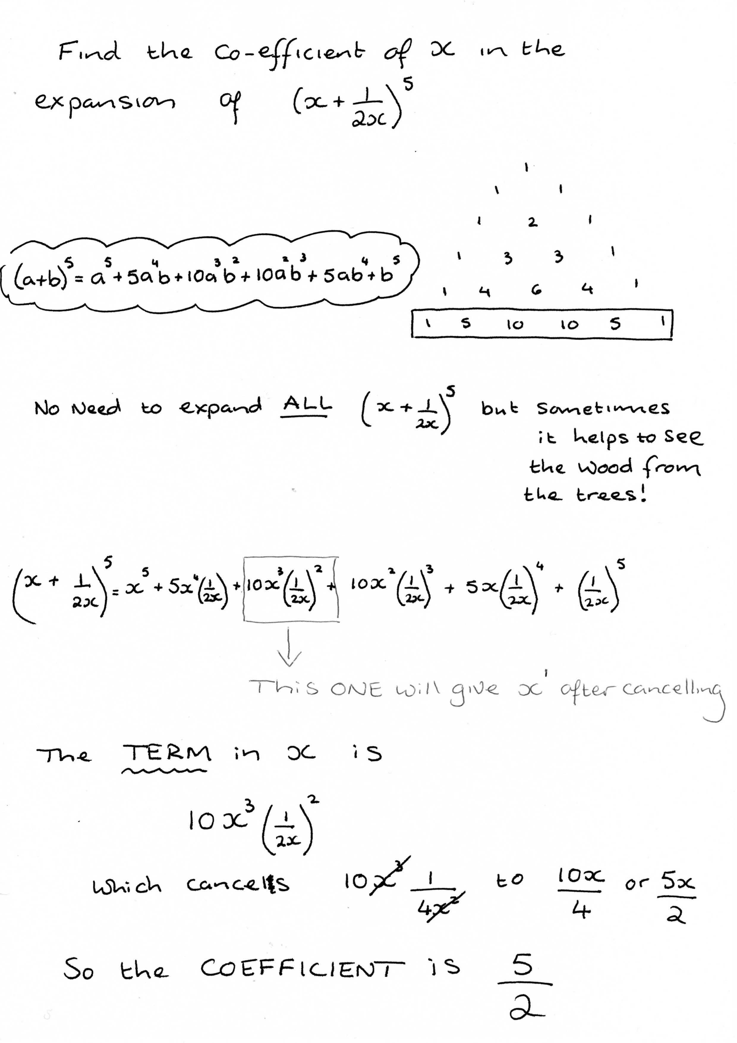 Worksheet Binomial Expansion Worksheet Grass Fedjp
